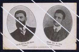 JOSE DA SILVA REIS BUISSA ,  ALFREDO LUIZ DA COSTA Falecidos 1 Fevereiro 1908 Portugal Real Photo Postcard Default 5545 - Portugal