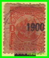 EL SALVADOR -    SELLO    AÑO  - 1900 - Salvador