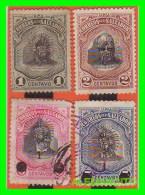 EL SALVADOR -    4 SELLOS  SERIE   AÑO  - 1906 - El Salvador