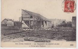 FIN D'UNE TERREUR - LA TRAGEDIE DE CHOISY LE ROI. Le Garage Près L'explosion - Choisy Le Roi
