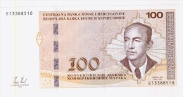 Bosnia And Herzegovina , 100 Maraka ( KM), Federal Version, 2012. UNC - Bosnië En Herzegovina