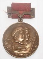 REPUBBLICA POPOLARE CINESE - MEDAGLIA MLITARE IN BRONZO PERIODO MAO (2) - Medals