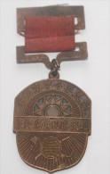 REPUBBLICA POPOLARE CINESE - MEDAGLIA MLITARE IN BRONZO PERIODO MAO (6) - Medals