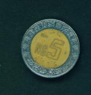 MEXICO  -  1994  $5  Circulated Coin - Mexico