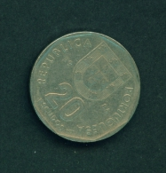 PORTUGAL  -  1986  20e  Circulated Coin - Portugal