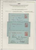 Greece PS 1901 Short Letter Flying Hermes - Macedonia