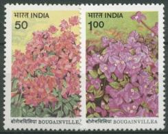 Indien 1985 Bougainvilleas 1022/23 Postfrisch - Ungebraucht