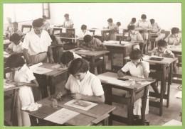 Timor - Uma Aula No Liceu De Dili Escola - Timor Oriental