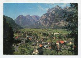 SWITZERLAND - AK 257025 Mollis Mit Rautispitz U. Glärnischkette - GL Glarus