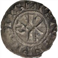 FRENCH STATES, Champagne, Thibaud II, Denarius, Troyes, TTB, Boudeau:1744 - 476-1789 Monnaies Seigneuriales