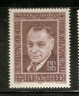 Austria ** & 25th Anniversary Of Wolfgang Pauli, Nobel Prize In Physics In 1983 (1591) - Fisica