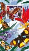 GUINEA BISSAU 2015 ** Butterflies Schmetterlinge S/S - OFFICIAL ISSUE - A1601 - Schmetterlinge