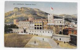 MONACO - N° 215 - LE PALAIS DU PRINCE - CPA  VOYAGEE - Prince's Palace