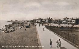 ROYAUME UNI - FELIXSTOWE  - The Promenade West Of Pier - Non Classés