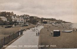 ROYAUME UNI - FELIXSTOWE  - The Promenade - East Of Pier - Non Classés