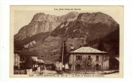 Cpa N° 5220 LE PETIT BORNAND LES GLIERES La Poste Et Rochers De Leschaux - Ohne Zuordnung