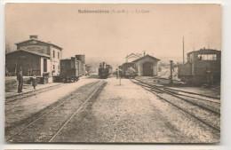 Sablonnieres  - La Gare -  Photo Annee 1960 / 1970 -  **** - Non Classés
