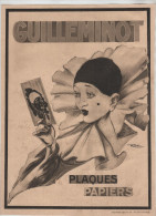 Publicité Guilleminot Pierrot Plaques Papiers Ribet - Werbung