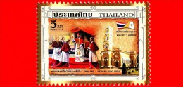 Nuovo - VATICANO - THAILANDIA -  2014 - 350° Anniversario Del Sinodo Di Ayutthaya - 5 Baht - Thailand