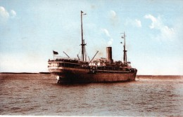 Cpa (17) En Rade De La Pallice-rochelle Paquebot Thysville De La Ciebelge Maritime Du Congo - France