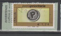 REPUBBLICA - 2002 Prioritario Da 1,24 - 1v. Usato Perfetto - 6. 1946-.. Repubblica