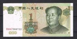 CHINA  1 YUAN  1999 - Chine