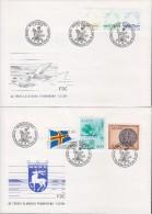 Aland Finland 1984 Definitives Mi#1-6 FDC - Aland