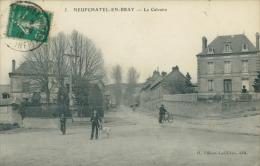 76 NEUFCHATEL EN BRAY / Le Calvaire / - Neufchâtel En Bray