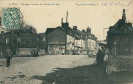 76 NEUFCHATEL EN BRAY / Passage à Niveau Du Chemin De Fer / - Neufchâtel En Bray
