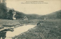 76 SAINT SAENS / L'Etang D'Oudalle Et L'Etablissement Des Eaux De Saint-Romain / - Saint Saens