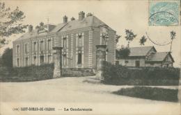 76 SAINT SAENS / La Gendarmerie / - Saint Saens