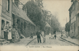 76 SAINT SAENS / Rue D'Haussez / - Saint Saens