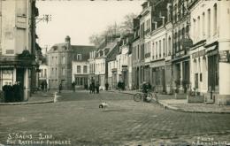 76 SAINT SAENS / Rue Raymond Poincaré / CARTE GLACEE - Saint Saens