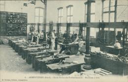 59 ARMENTIERES / Ecole Nationale Professionnelle, Machines à Bois / - Armentieres