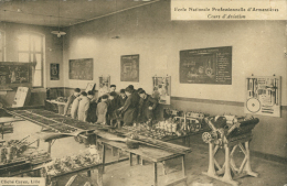 59 ARMENTIERES / Ecole Nationale Professionnelle D'Armentières, Cours D'Aviation / - Armentieres