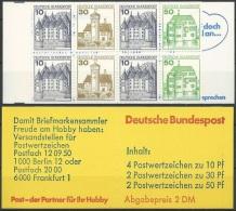 DEUTSCHLAND 1981 MI-NR. MARKENHEFT 22 O ** MNH (139) - [7] Repubblica Federale