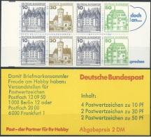 DEUTSCHLAND 1981 MI-NR. MARKENHEFT 22 Q ** MNH (139) - [7] Repubblica Federale