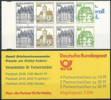 DEUTSCHLAND 1984 MI-NR. MARKENHEFT 22 Ad K2 ** MNH (139) - [7] République Fédérale