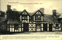 N°312 PPP 347  MACHYNLLETH THE OLD MAYOR'S HOUSE - Montgomeryshire