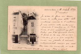 SALINS LES BAINS   PRECURSEUR 1899 - Otros Municipios