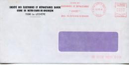 EMA Science,chimie,Société Des Electrodes Et Réfractaires SAVOIE,cathode Carbone,graphite Pour Electrolyse,lettre 73 La - Chemistry