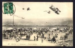 CPA AVIATION Algérie  -  BLIDA - L' Aérodrome - Ecole D'aviation - ....-1914: Précurseurs