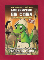 CPM   Le Labyrinthe De Caen - Cambes En Plaine   été 2009.   Postcard. - Caen