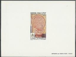 1990 - BURKINA FASO - EPREUVE DE LUXE 828 EL - THEME : ARTISANAT - Burkina Faso (1984-...)