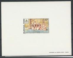 1990 - BURKINA FASO - EPREUVE DE LUXE 827 EL - THEME : ARTISANAT - POTERIE - Burkina Faso (1984-...)