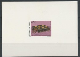 1991 - BURKINA FASO - EPREUVE DE LUXE 849 EL - THEME : CUISINE - Burkina Faso (1984-...)