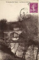 St Junien ( Hte Vienne) La Glane au Chatelard Recto Verso