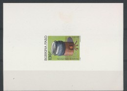 1991 - BURKINA FASO - EPREUVE DE LUXE 850 EL - THEME : CUISINE - Burkina Faso (1984-...)