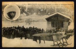 CPA AVIATION - BIELOVUCIC S'apprétant à Franchir Les Alpes Sur Monoplan HANRIOT - ....-1914: Précurseurs