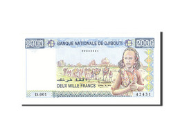 Djibouti, 2000 Francs, 1997, KM:40, Undated, NEUF - Djibouti